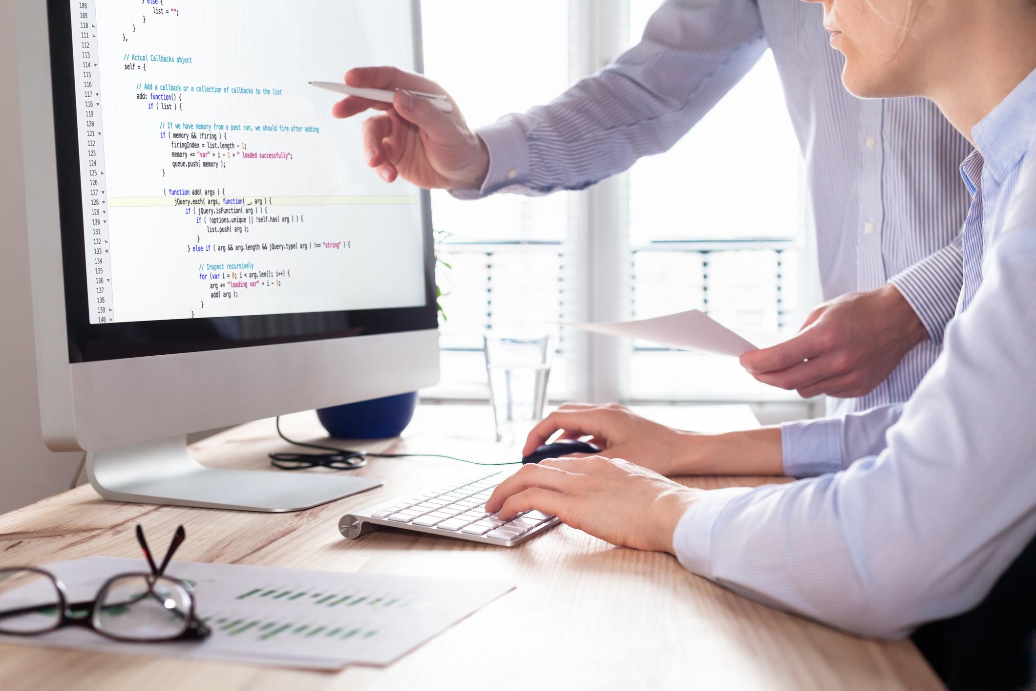 Wie eine Software entwickelt wird